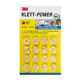 3M Klett-power pads 1 stk