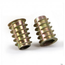 M5x10mm Threaded wood inset...