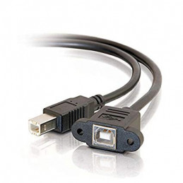 100cm USB 2.0 B Male to USB...